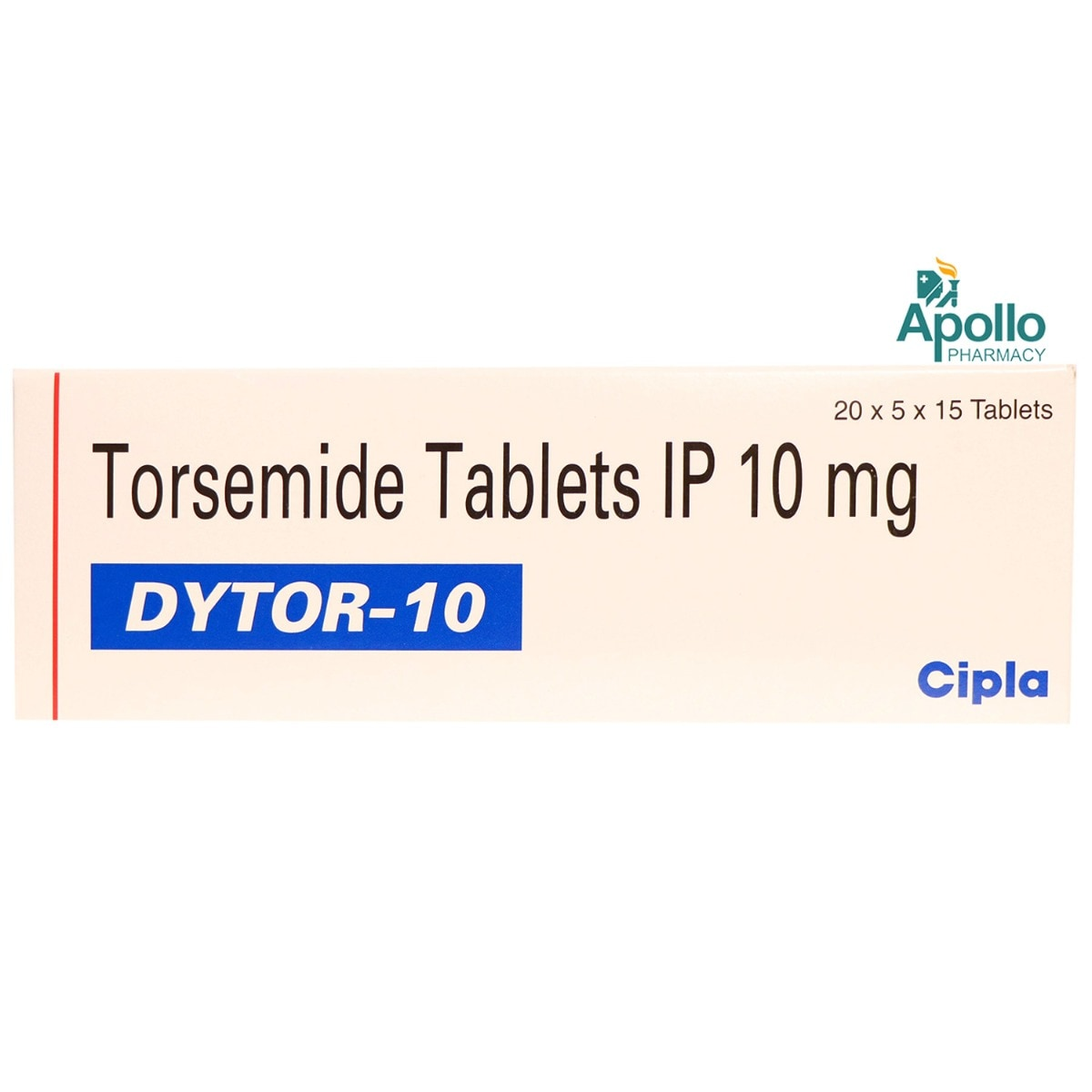 Dytor-10 Tablet 15's