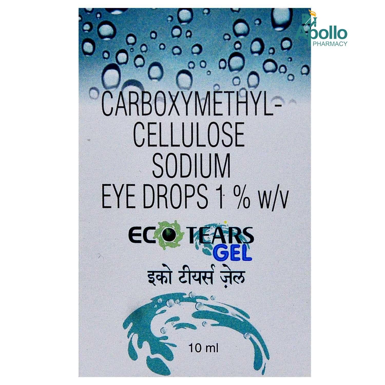 ECO TEARS GEL 1% DROPS 10ML