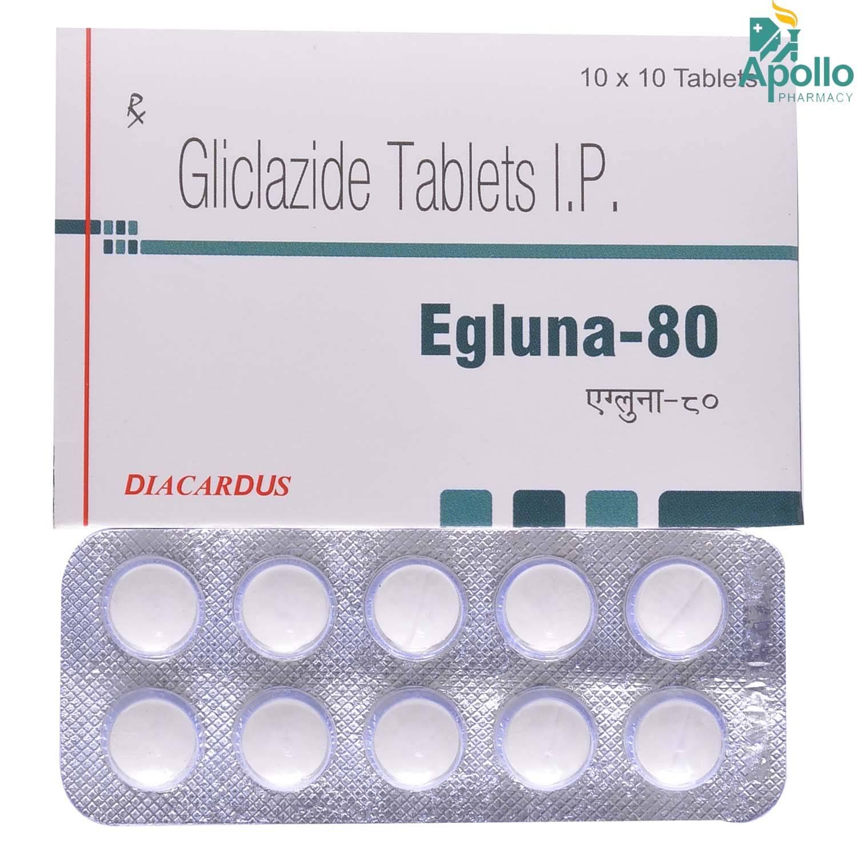 EGLUNA 80MG TABLET 10'S