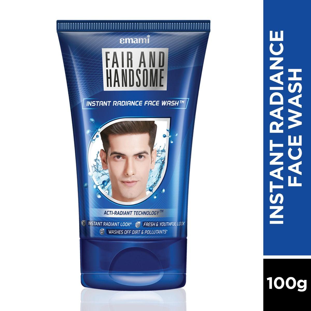 Fair & Handsome Instant Radiance Face Wash, 100 gm