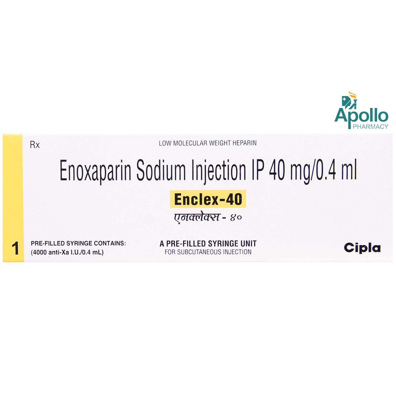 ENCLEX 40MG INJECTION 0.4ML