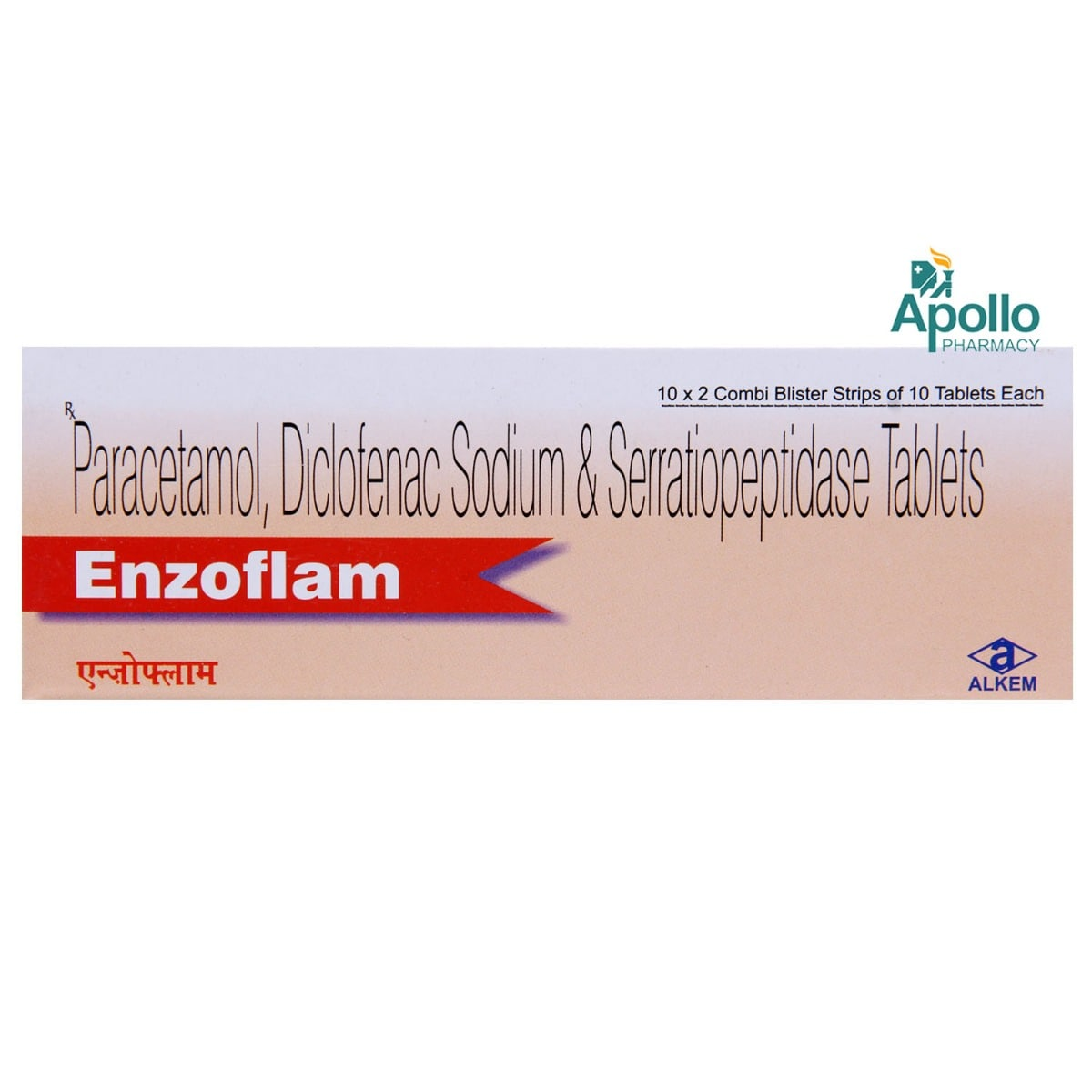 Enzoflam Tablet 10's
