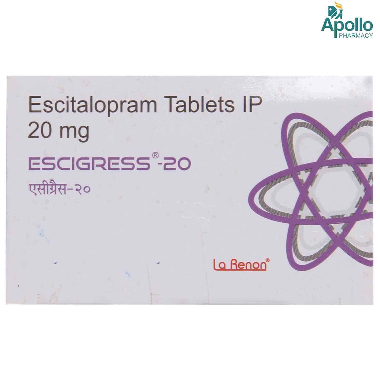 Escigress-20 Tablet 10's