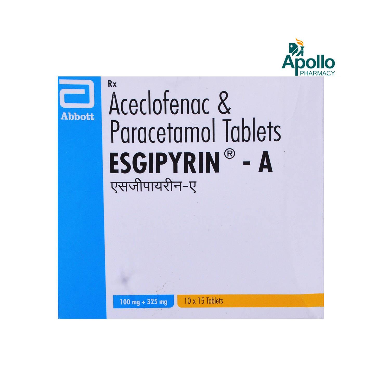 ESGIPYRIN A TABLET 15'S