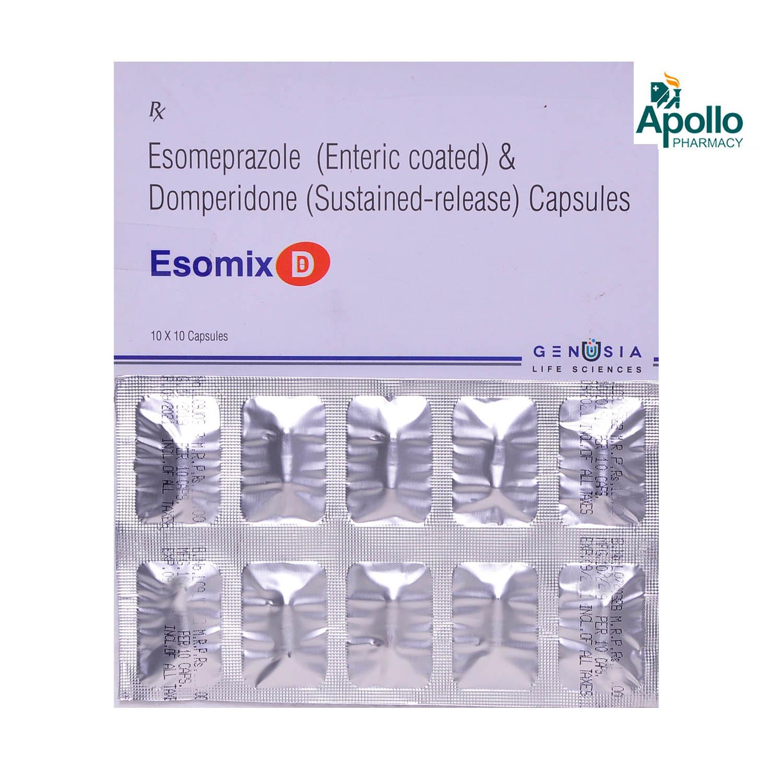 ESOMIX D CAPSULE 10'S