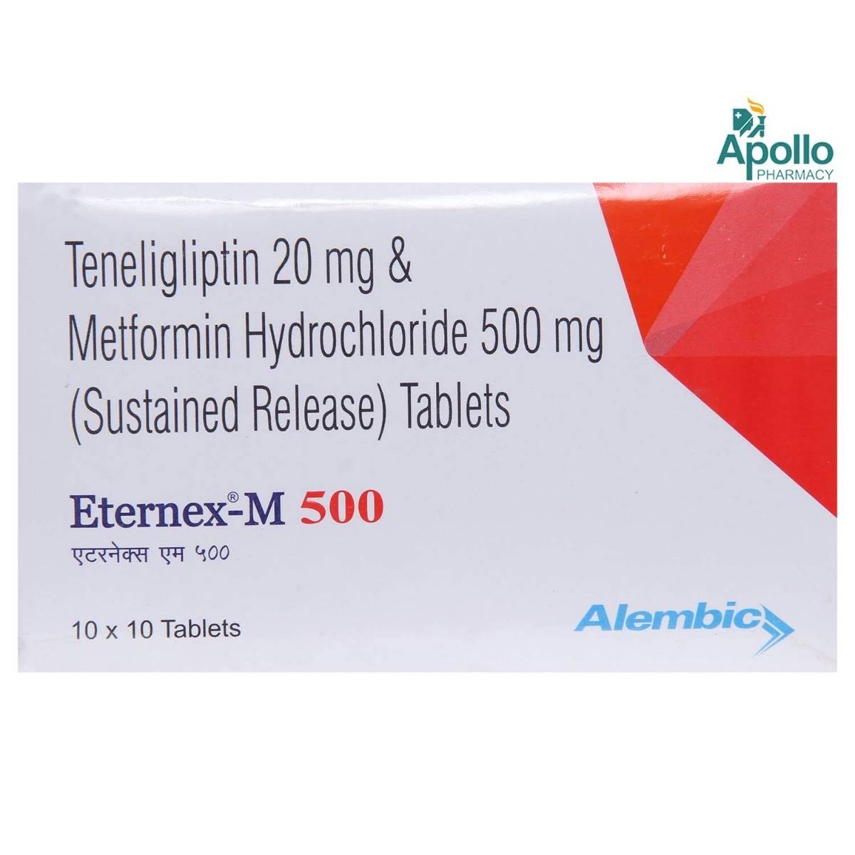 Eternex-M 500 Tablet 10's