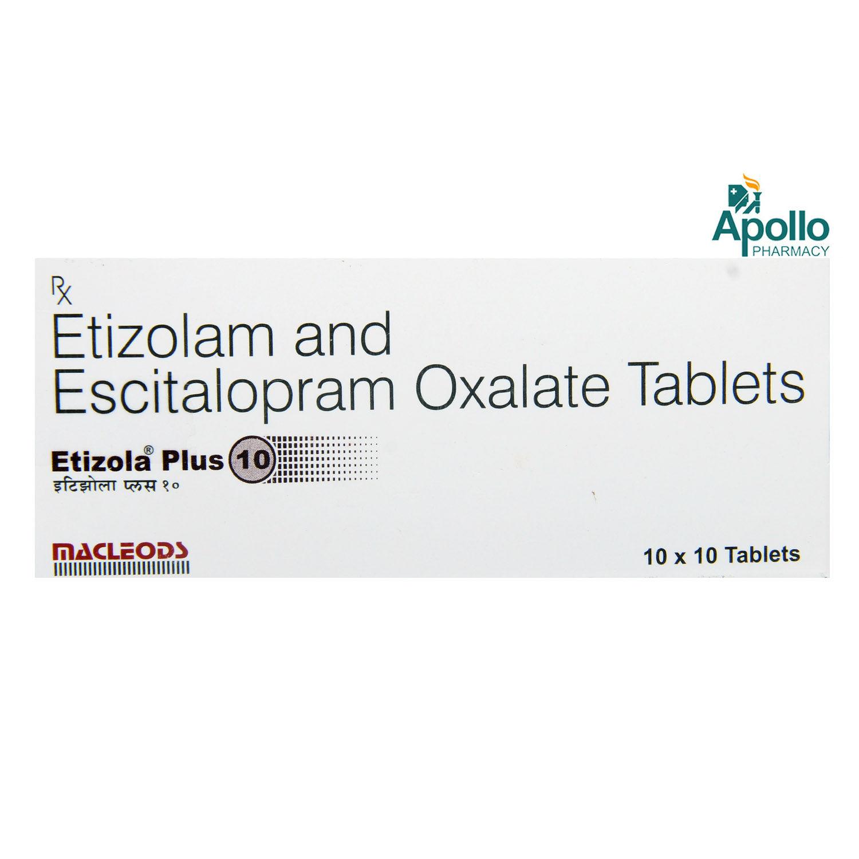 Etizola Plus 10 Tablet 10's