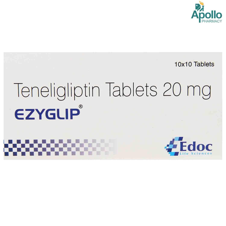 EZYGLIP 20MG TABLET 10'S