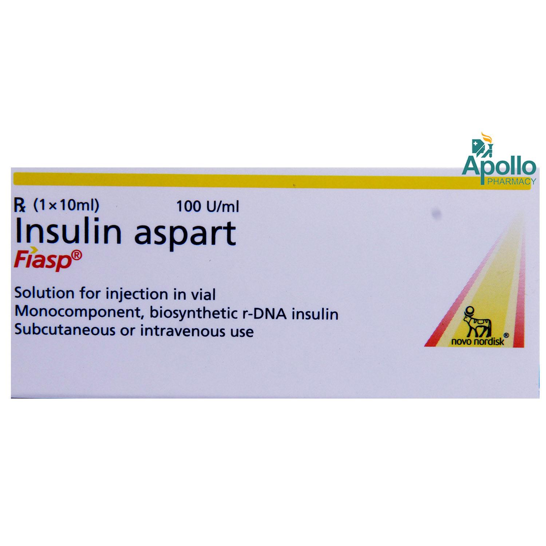 Fiasp 100u Injection 10ml