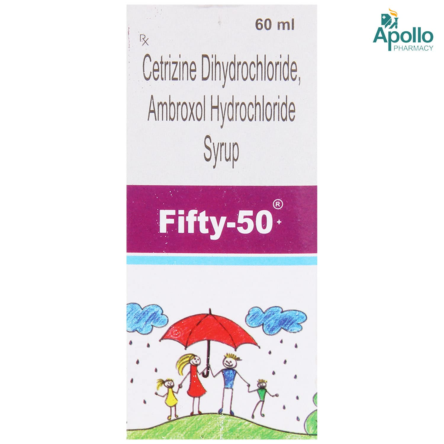 FIFTY 50MG SYRUP 60ML