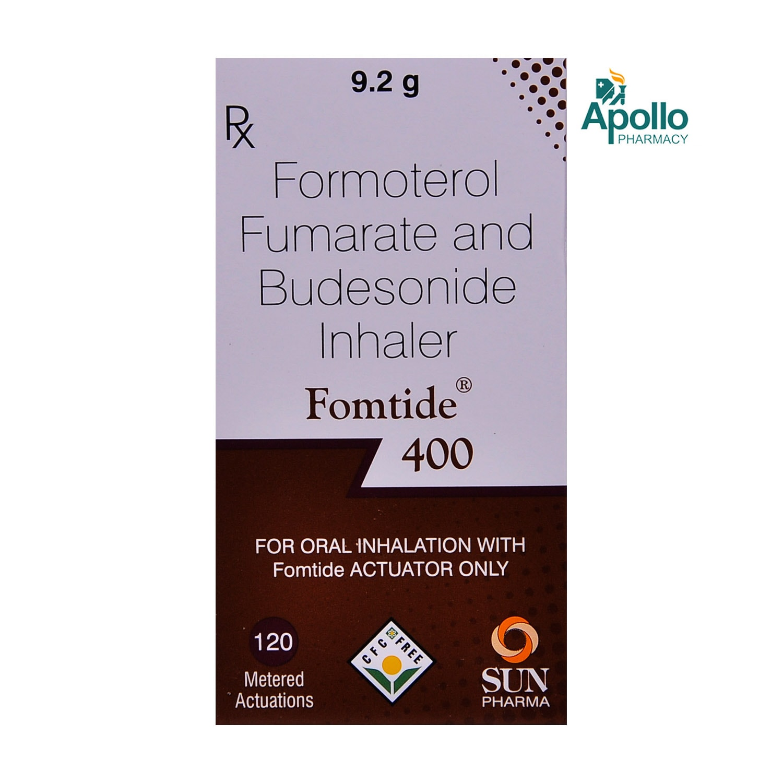 Fomtide 400Mcg Inhaler