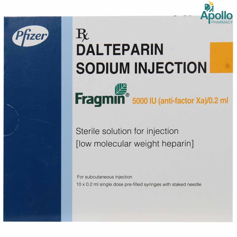 Fragmin 5000IU Injection 0.2 ml