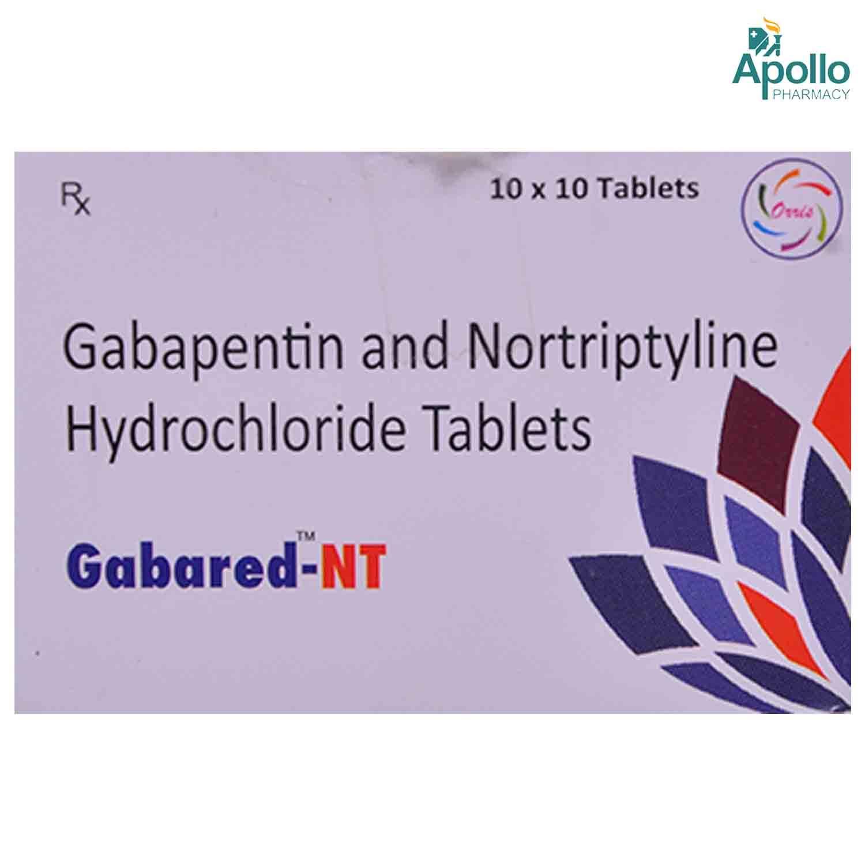 GABARED NT TABLET 10'S