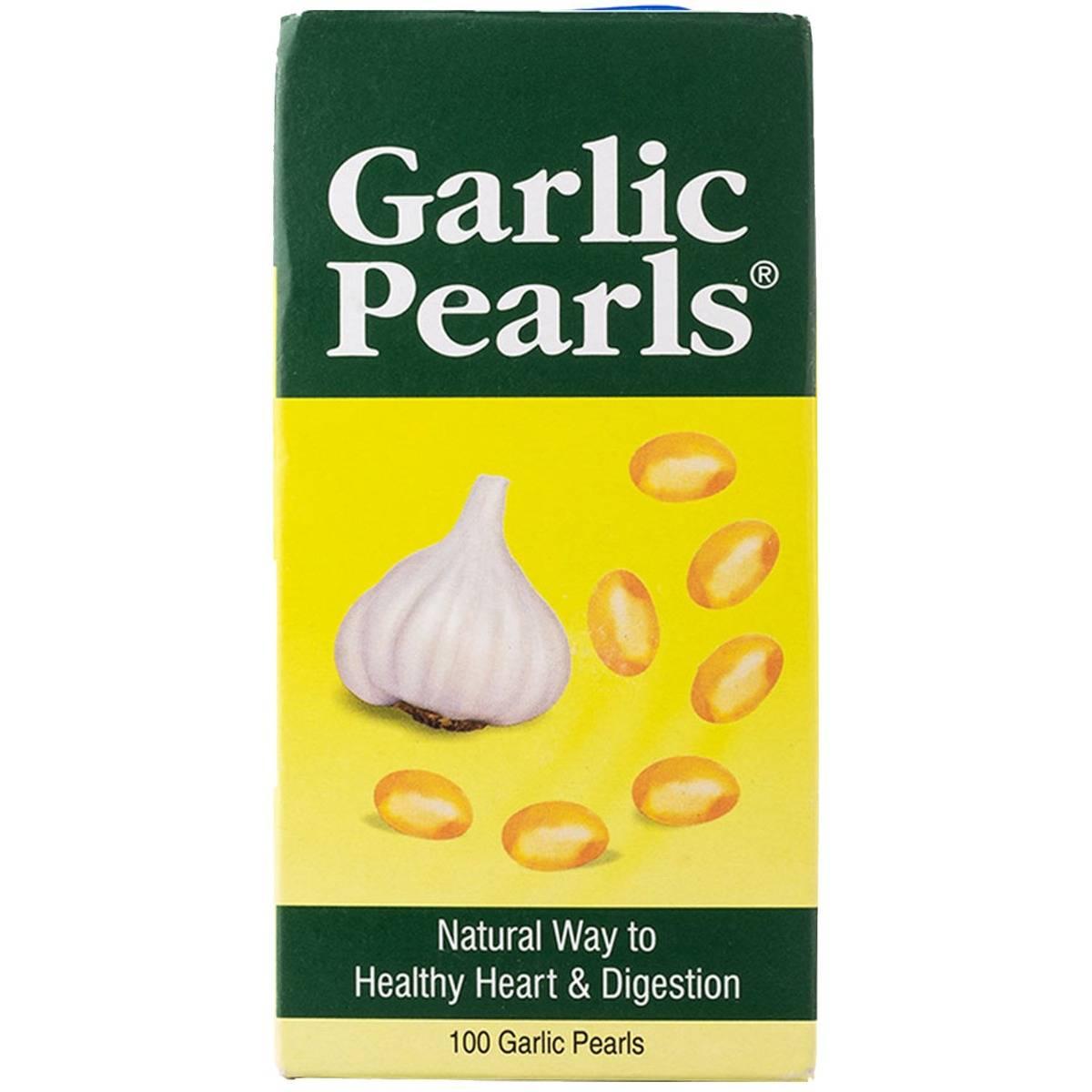 Garlic Pearls, 100 Capsules