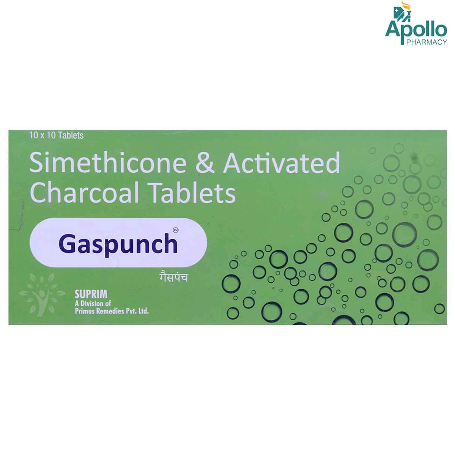 Gaspunch Tablet 10's