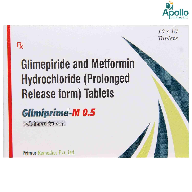 Glimiprime M 0.5 Tablet 10's
