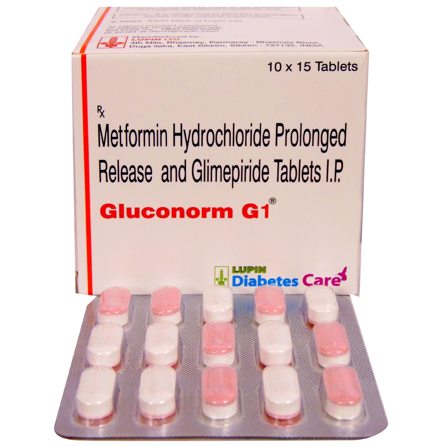 Gluconorm G 1 Tablet 15's