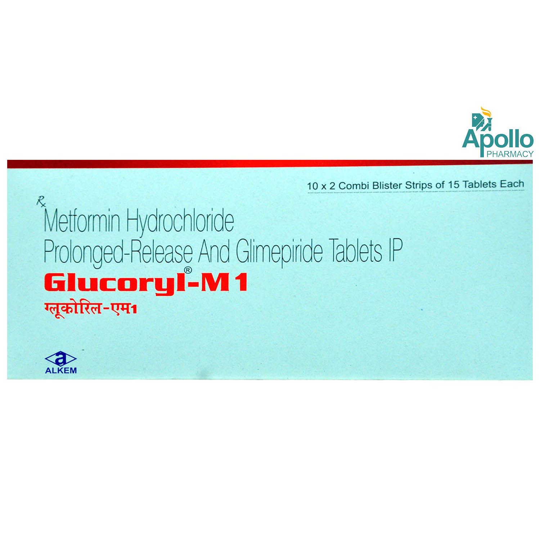 Glucoryl-M1 Tablet 15's