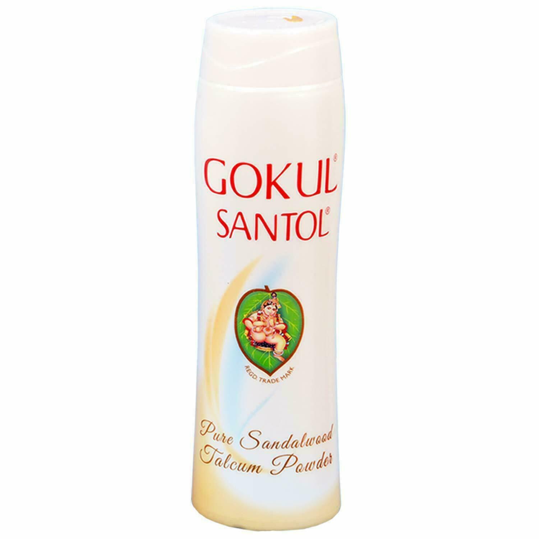 Gokul Santol Sandalwood Talcum Powder, 70 gm