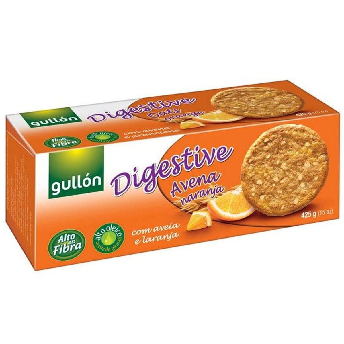 Gullon Oats & Orange Digestive Biscuits, 425 gm