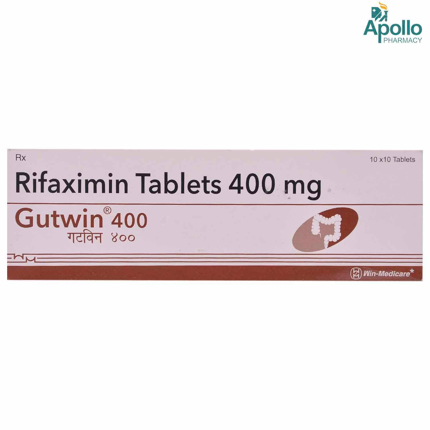 GUTWIN 400MG TABLET 10'S