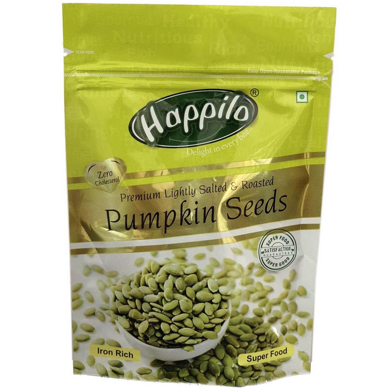 Happilo Premium Lightly Salted & Roasted Pumpkin seeds, 200 gm