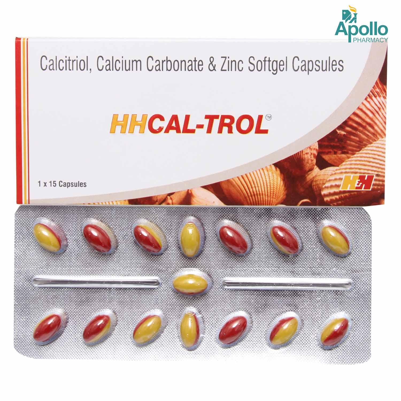 HHCAL TROL CAPSULE 15S