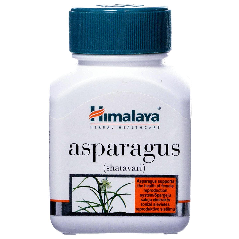 Himalaya Asparagus (Shatavari), 60 Capsules