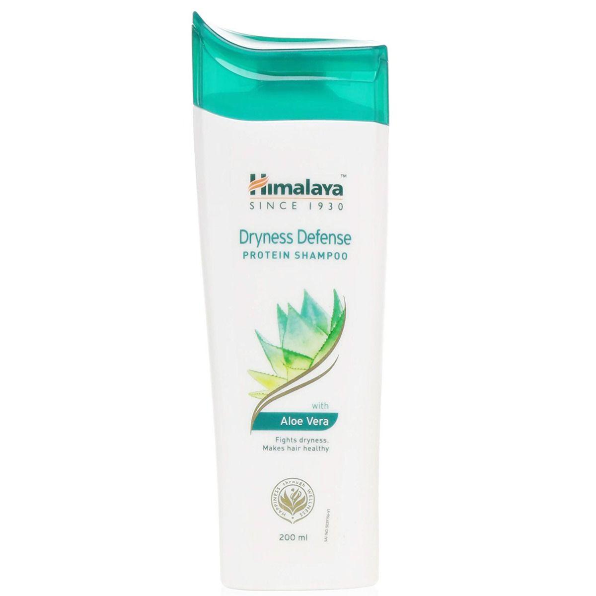 Himalaya Dryness Defense Protein Shampoo With Aloe Vera, 200 ml