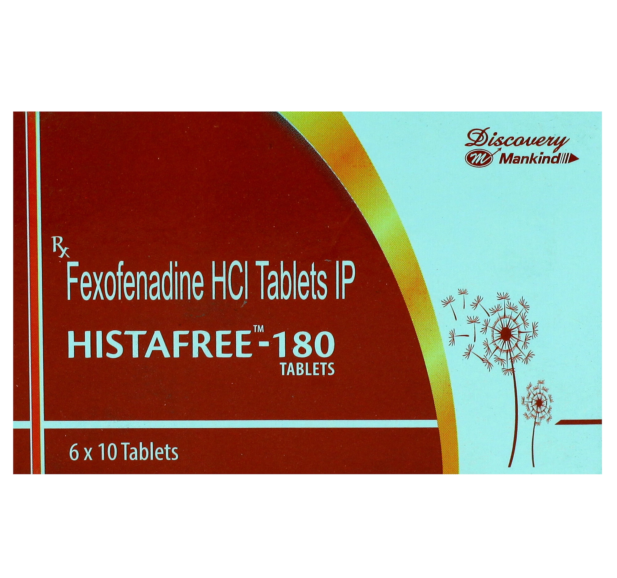 HISTAFREE 180MG TABLET