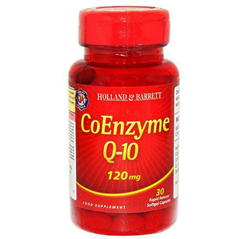 Holland & Barrett Co Enzyme Q-10 120 mg, 30 Capsules