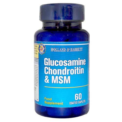 Holland & Barrett Glucosamine Chondroitin & MSM, 60 Capsules