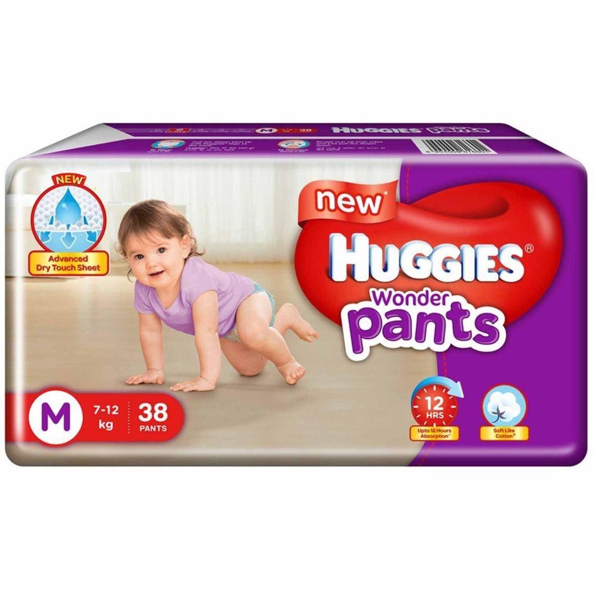 Huggies Wonder Pants Medium, 38 Count