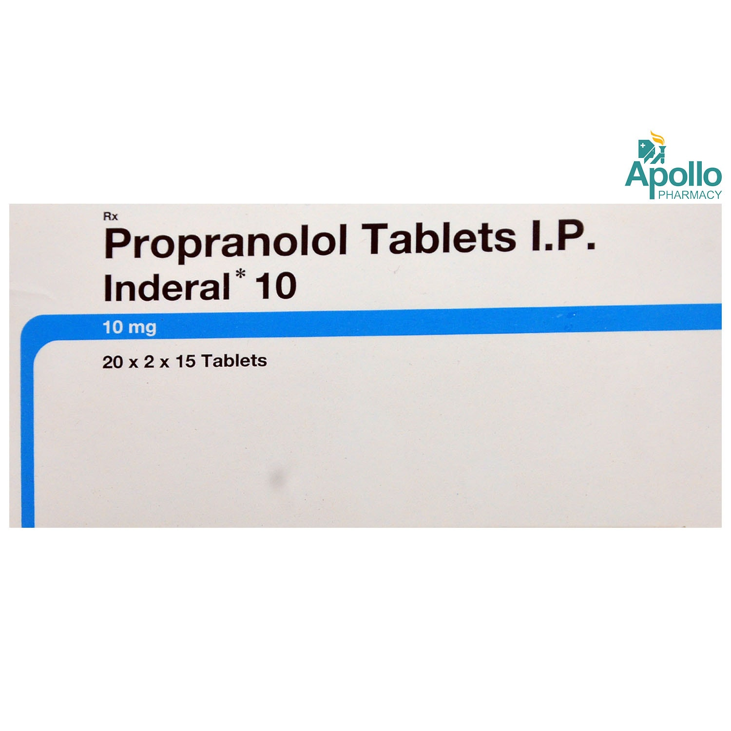 Inderal 10 Tablet 15's
