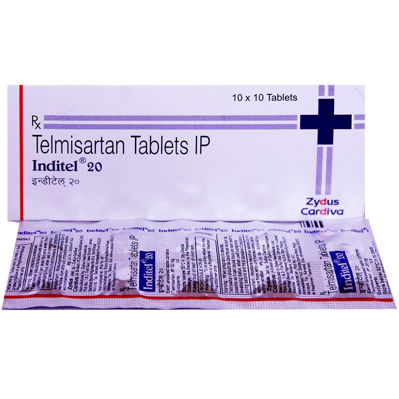 Inditel 20 Tablet 10's