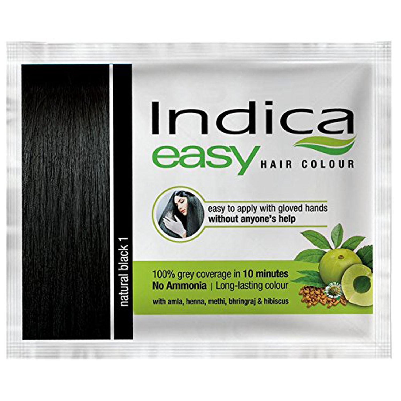 Indica Easy Hair Colour Natural Black, 25 ml