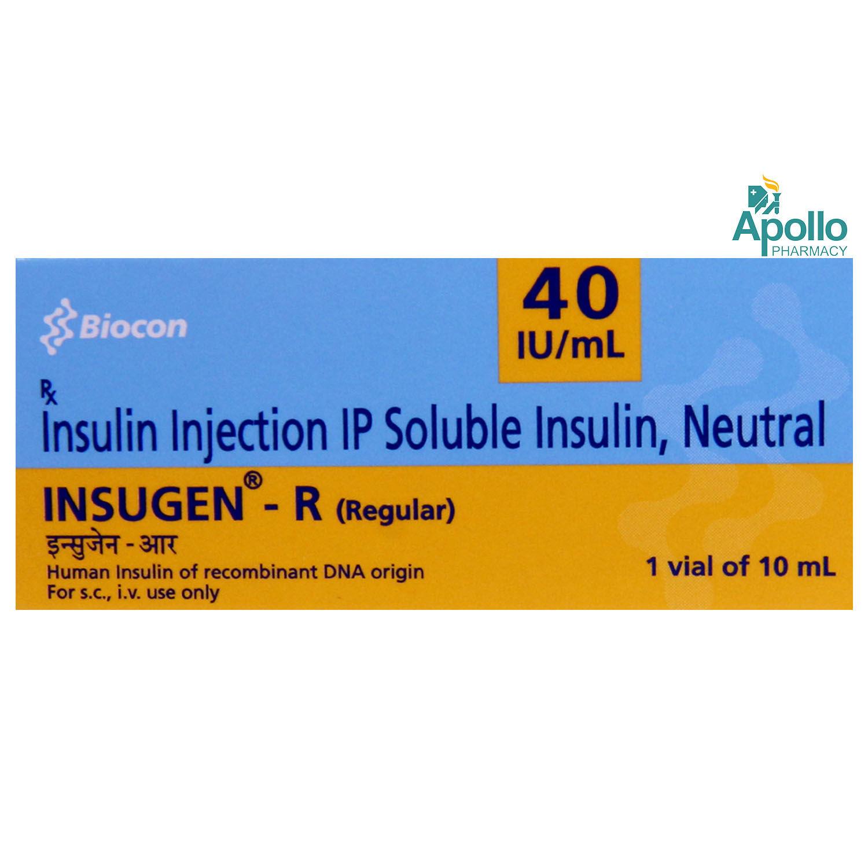 INSUGEN R (REGULAR) INJECTION 10ML