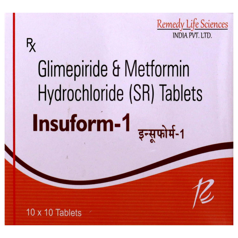 Insuform 1 Tablet 10's