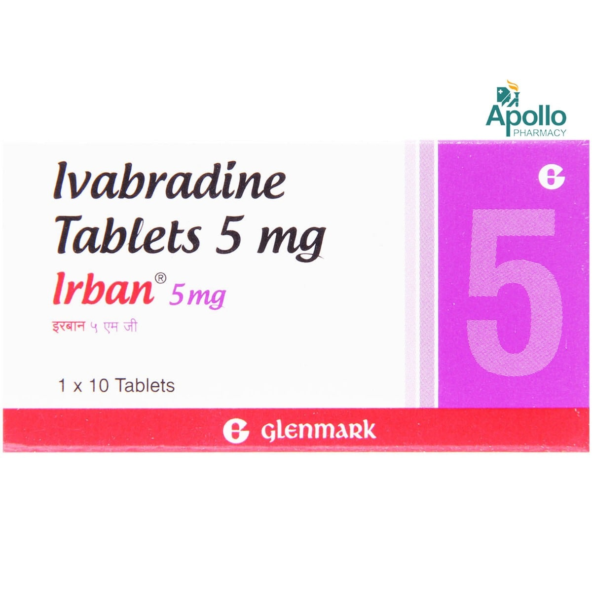 IRBAN 5MG TABLET 10'S
