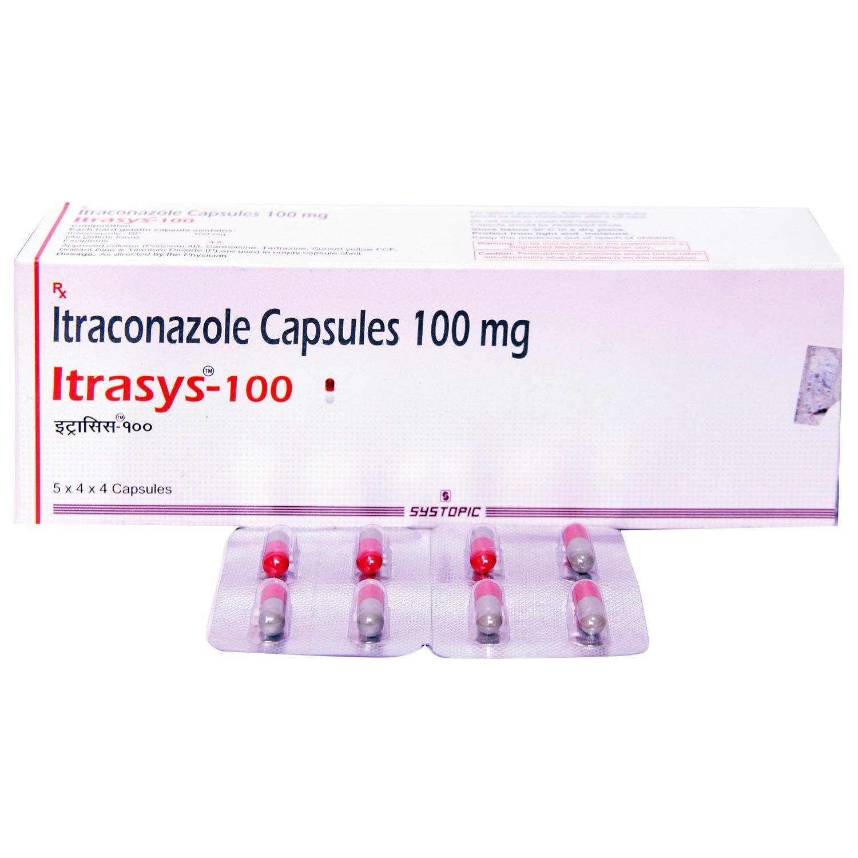Itrasys 100 Capsule 4's