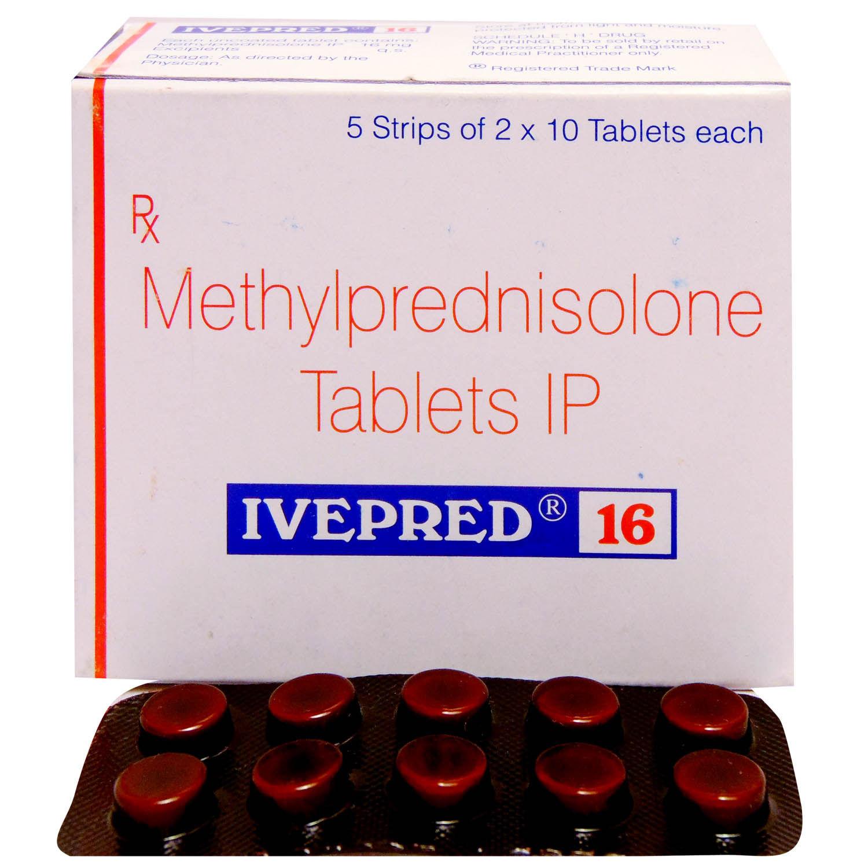 Ivepred 16 Tablet 10's
