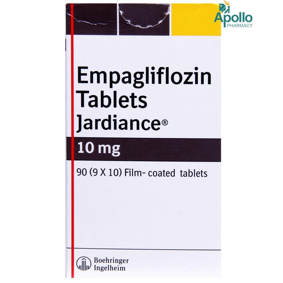 Jardiance 10 mg Tablet 10's