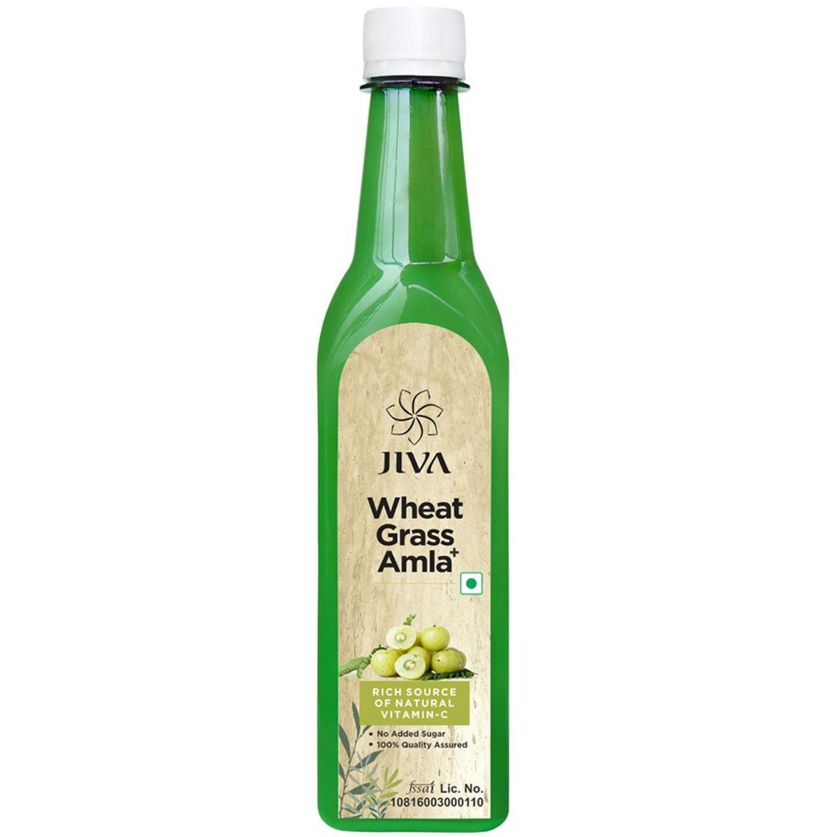 Jiva Wheat Grass + Amla Juice, 500 ml