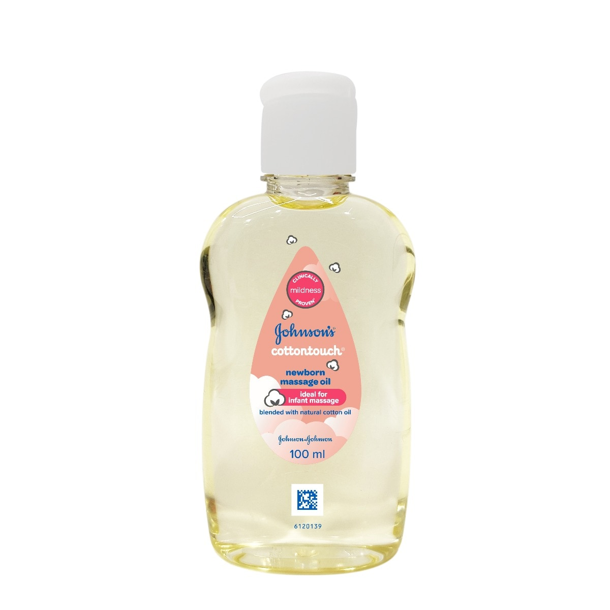 Johnson's Cottontouch New Born Massage Oil, 100 ml