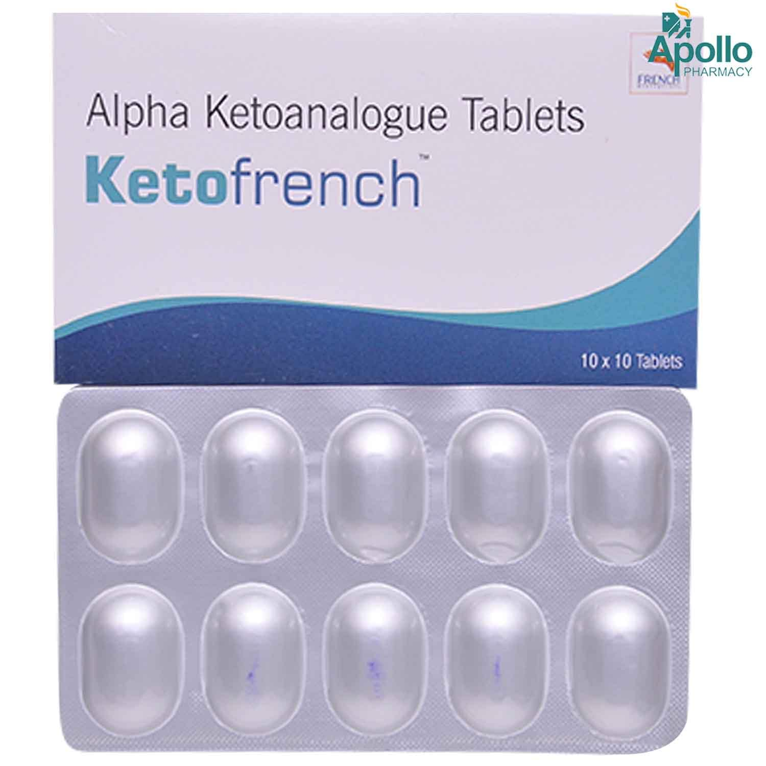 KETOFRENCH TABLET 10'S