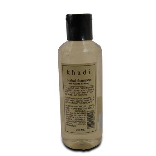 Khadi Vanilla & Honey Herbal Shampoo, 210 ml
