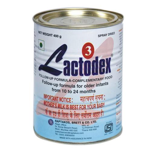 Lactodex 3 Follow-Up Formula, 10 to 24 Months, 500 gm Tin