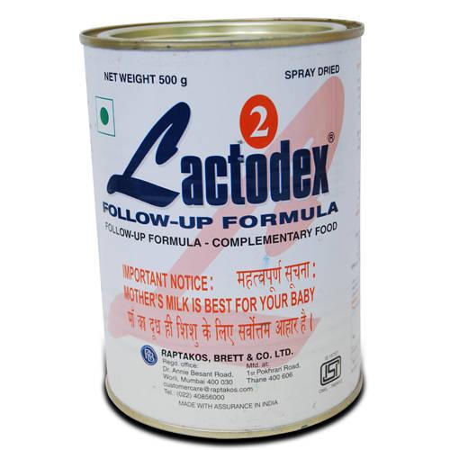 Lactodex 2 Follow-Up Formula, 6M+, 500 gm Tin
