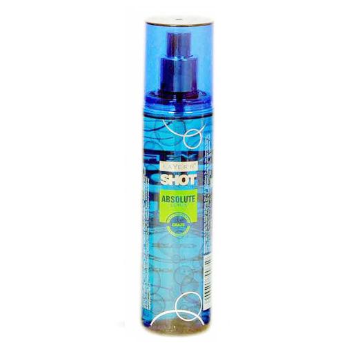 Layer'r Shot Absolute Craze Deodorant Body Spray, 135 ml