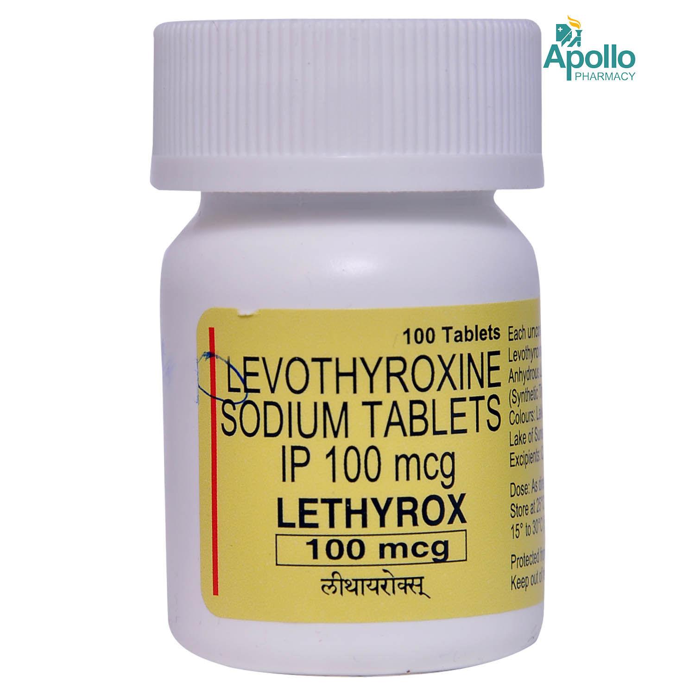 LETHYROX 100MCG TABLET